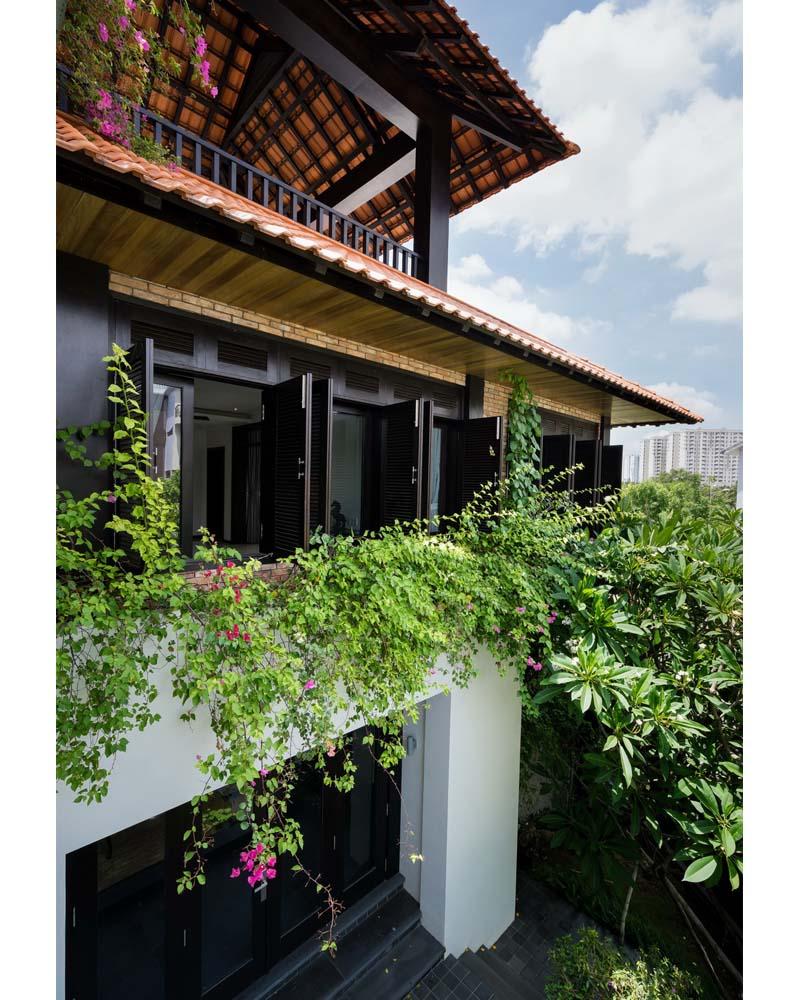 Biệt Thự Đẹp Kiểu Nhà Vườn Xứ Huế | BT-040