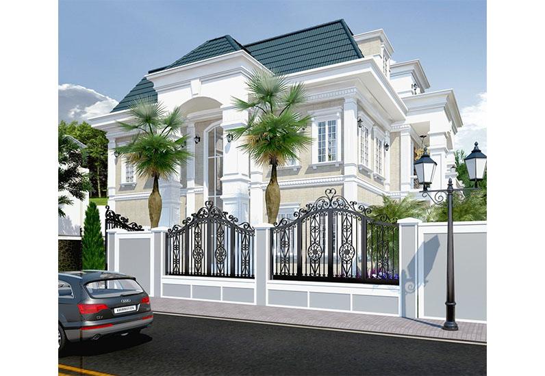 Biệt Thự Cổ Điển Đậm Chất Tây | Chị Trinh | BT-039