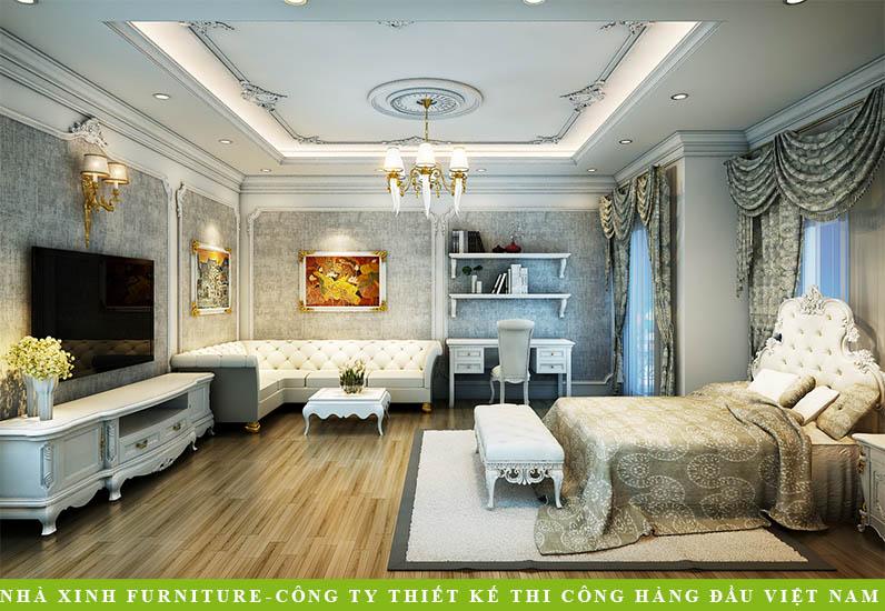 Biệt Thự Tân Cổ Điển | Anh Hưng | BT-017