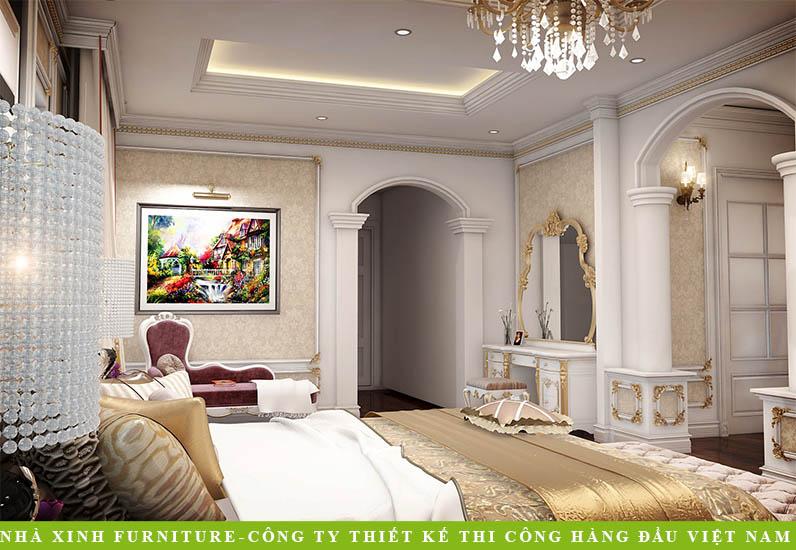 Nội Thất Biệt Thự Tân Cổ Điển | Anh Hưng | BT-017