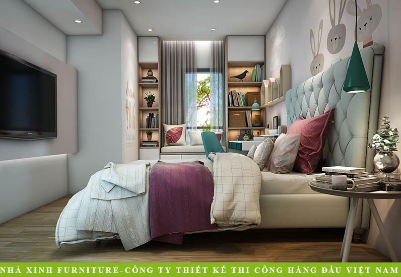 Trang Trí Nội Thất Đẹp Cho Căn Hộ | Chị Dung | Quận 7 | NT-015