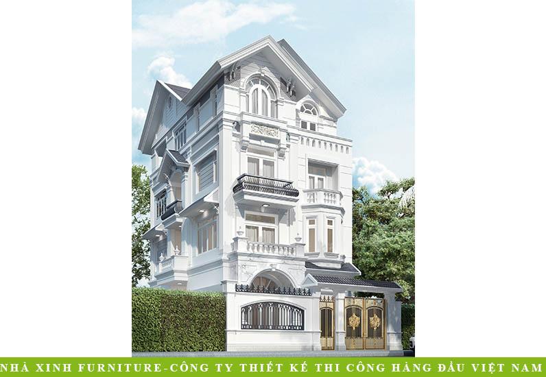 Biệt Thự Cổ Điển Pháp Mái Dốc | Ông Đại | Quận 11 | BT-007