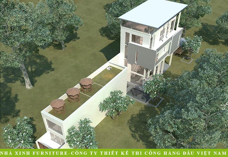 Biệt Thự Hiện Đại Với Sân Vườn Thoáng Đãng | Trần Thế An | Quận 7 | BT-027