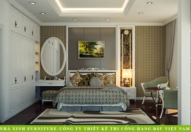 Biệt Thự Tân Cổ Điển Với Những Đường Nét Tinh Tế | Ông Chiện | Tân Phú | BT-026