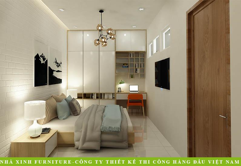 Thiết Kế Nội Thất Đẹp Cho Phòng Trọ | Anh Hùng | Đinh Bộ Lĩnh | NP-015
