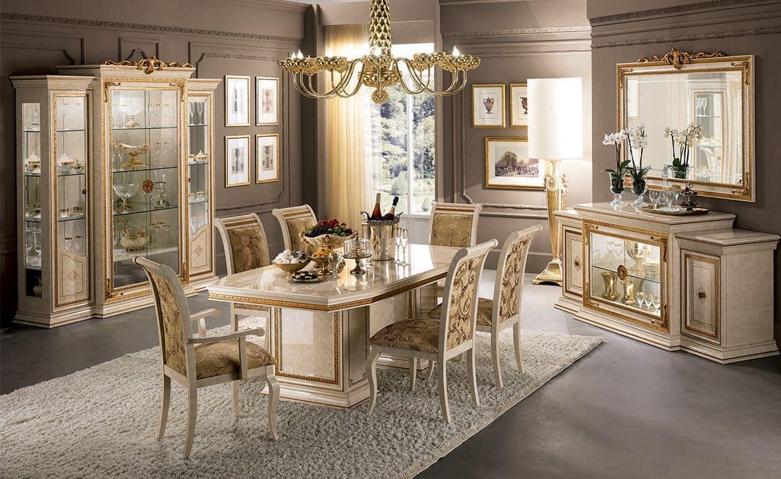 leonardo dining room wooden table 3